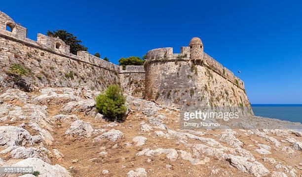 Venetian Fortezza, Rethymnon, island of Crete, Greece, Mediterranean
