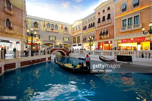venetian hotel,macao - the venetian macao stock photos and pictures