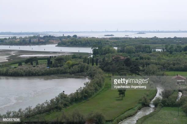 Venetian lagoon as seen from Torcello island