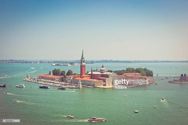 venetian lagune - vaporetto stock-fotos und bilder