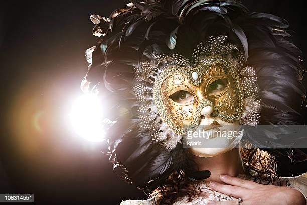 venetian mask - opera stock pictures, royalty-free photos & images