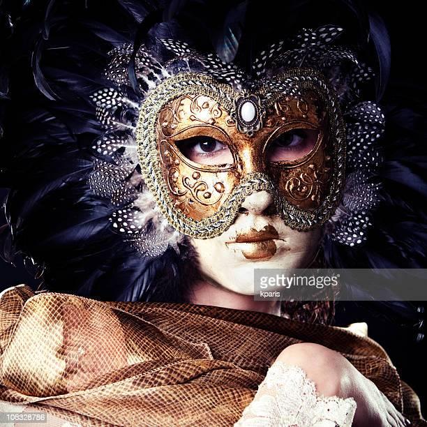 maschera veneziana - maschere carnevale foto e immagini stock