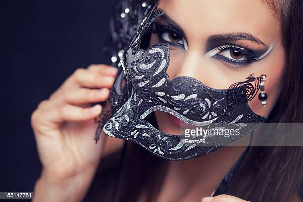 Venetian mask (silver shoot)