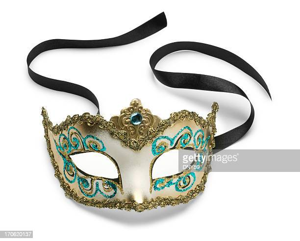 venetian mask - evening ball stock pictures, royalty-free photos & images