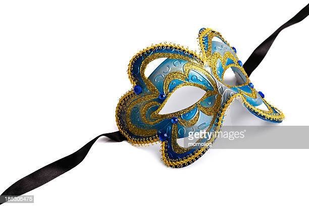 venetian mask - mardi gras flashing stock photos and pictures