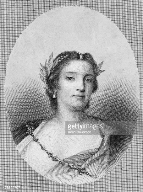 Venetian operatic mezzo-soprano Faustina Bordoni Hasse , circa 1720.