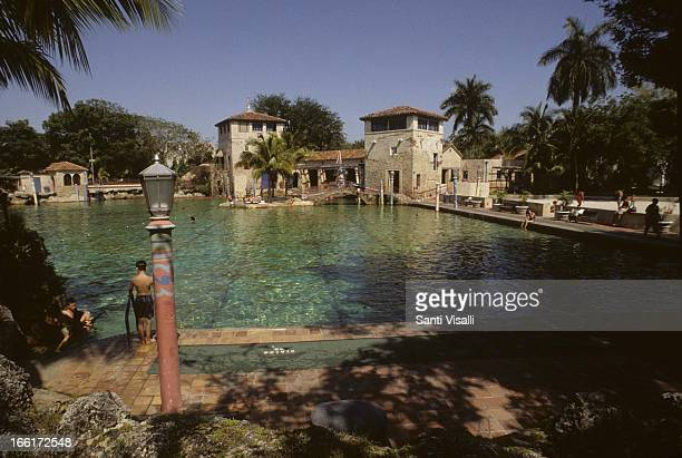 Venetian Pool on May 25 1992 in Coral Gables Florida Photo by Santi Visalli/Getty Images}