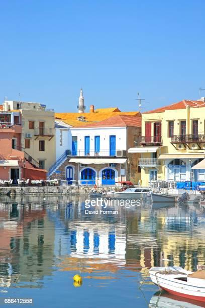 Venetian Port in Rethymnon.