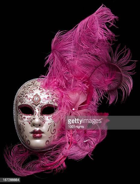 venetinan maschera - maschere veneziane foto e immagini stock