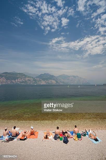 veneto, italy, beach view - assenza ストックフォトと画像