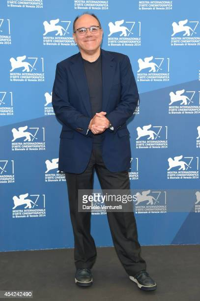 Venezia 71 jury member Carlo Verdone attends the Opening Photocall during the 71st Venice International Film Festival on August 27 2014 in Venice...