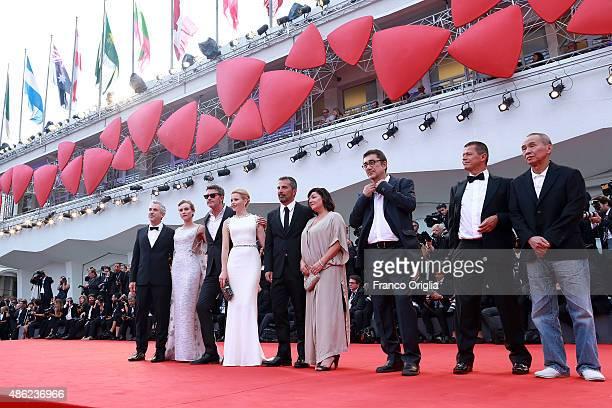 Venezia 72 jury members Nuri Bilge Ceylan Hou HsiaoHsien Emmanuel Carrere Lynne Ramsay Francesco Munzi Elizabeth Banks Pawel Pawlikowski Diane Kruger...