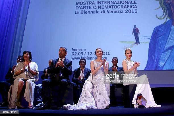 Venezia 72 Jury members Pawel Pawlikowski Lynne Ramsay Hou HsiaoHsien Francesco Munzi Nuri Bilge Ceylan Diane Kruger Emmanuel Carrere and Elizabeth...