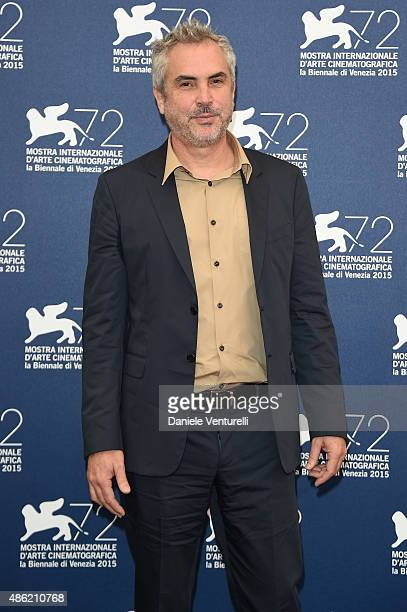 'Venezia 72' Jury President Alfonso Cuaron attends the Jury Photocall during the 72nd Venice Film Festival on September 2 2015 in Venice Italy