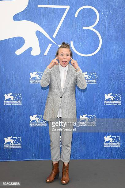 'Venezia 73' jury member Laurie Anderson attends the photocall of the jury during the 73rd Venice Film Festival on August 31 2016 in Venice Italy