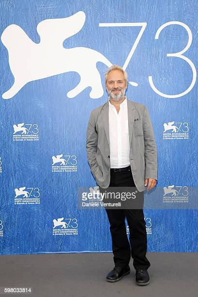 Venezia 73' jury president Sam Mendes attends the photocall of the jury during the 73rd Venice Film Festival on August 31, 2016 in Venice, Italy.