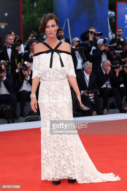 'Venezia 74' jury member Anna Mouglalis arrives at the Award Ceremony during the 74th Venice Film Festival at Sala Grande on September 9 2017 in...