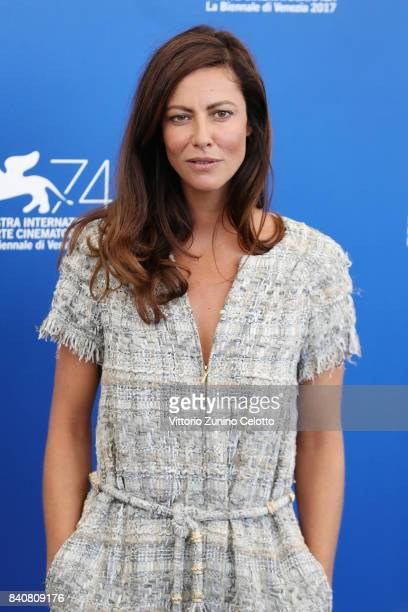 'Venezia 74' jury member Anna Mouglalis attends the Jury photocall during the 74th Venice Film Festival at Sala Casino on August 30 2017 in Venice...