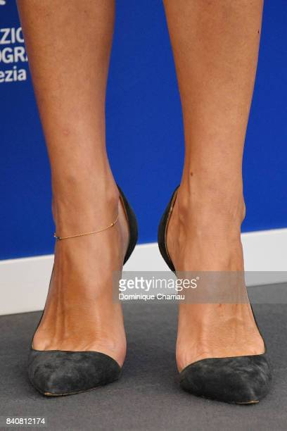 'Venezia 74' jury member Anna Mouglalis shoe detail attends the Jury photocall during the 74th Venice Film Festival at Sala Casino on August 30 2017...