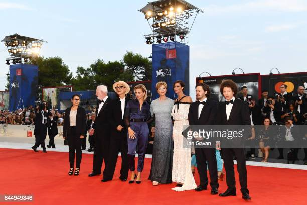 'Venezia 74' jury members Ildiko Enyedi David Stratton Yonfan Jasmine Trinca president Annette Bening members Anna Mouglalis Edgar Wright and Michel...