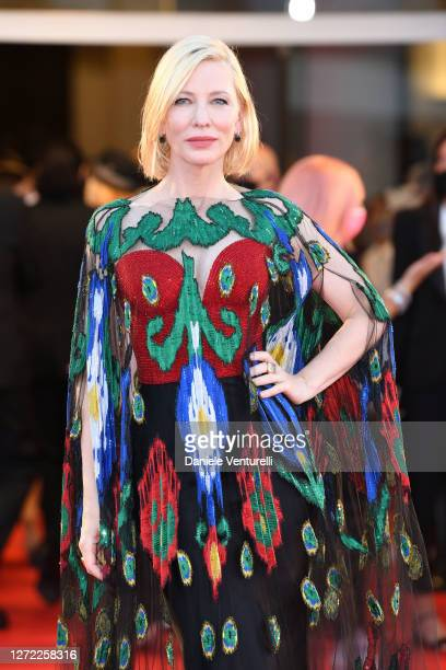 Venezia77 Jury President Cate Blanchett attends the closing ceremony at the 77th Venice Film Festival on September 12 2020 in Venice Italy