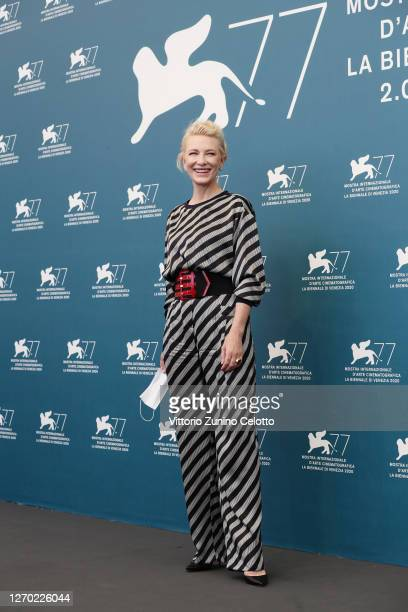Venezia77 Jury President Cate Blanchett attends the photocall at the 77th Venice Film Festival on September 02, 2020 in Venice, Italy.