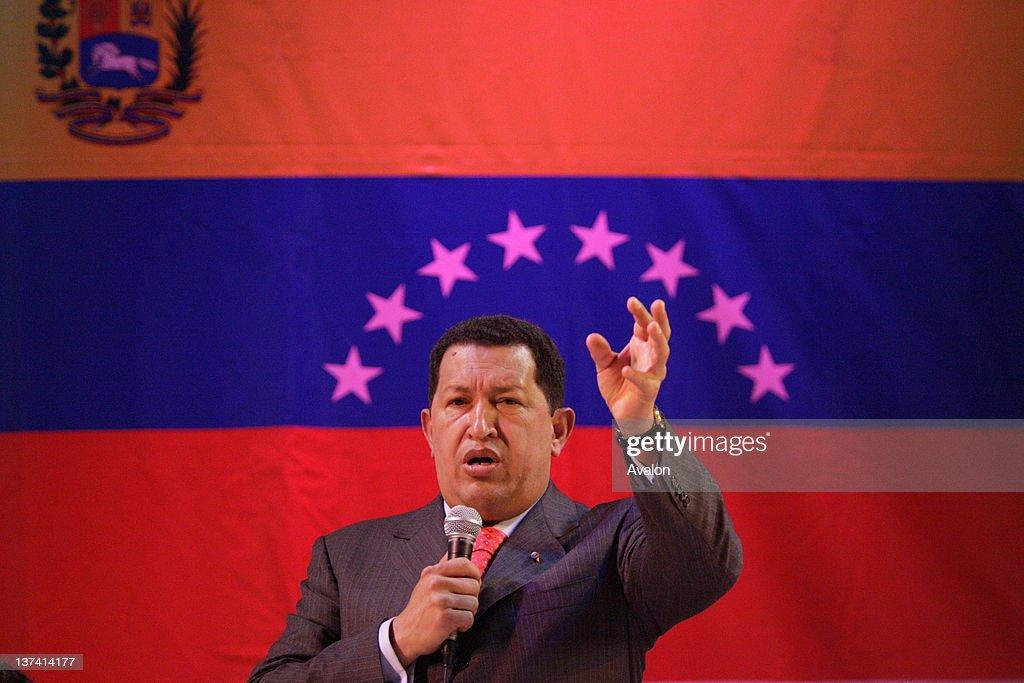 Venezualan President Hugo Chaves address : Fotografía de noticias