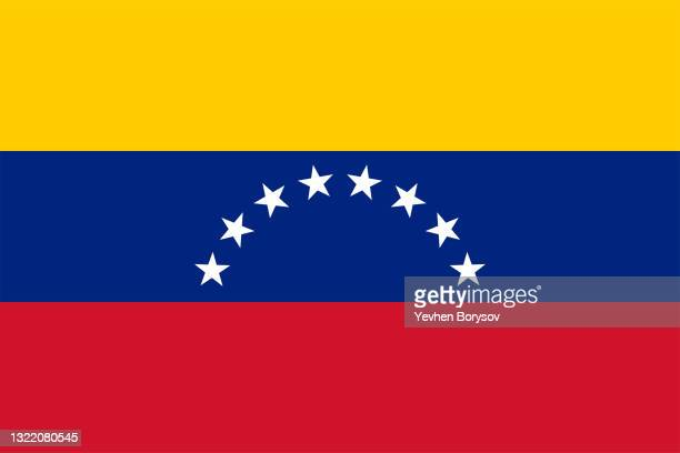 venezuela flag simple illustration for independence day or election - south america stock pictures, royalty-free photos & images
