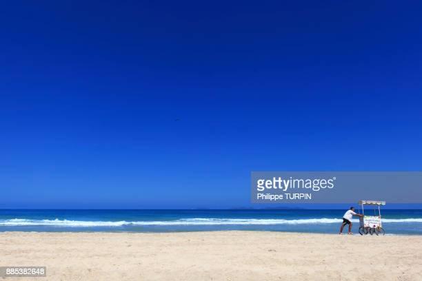 venezuela, margarita island, parguito beach - margarita beach stock photos and pictures