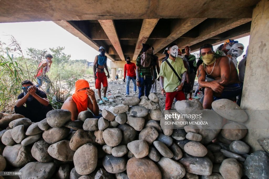 COLOMBIA-VENEZUELA-CRISIS-BORDER : News Photo