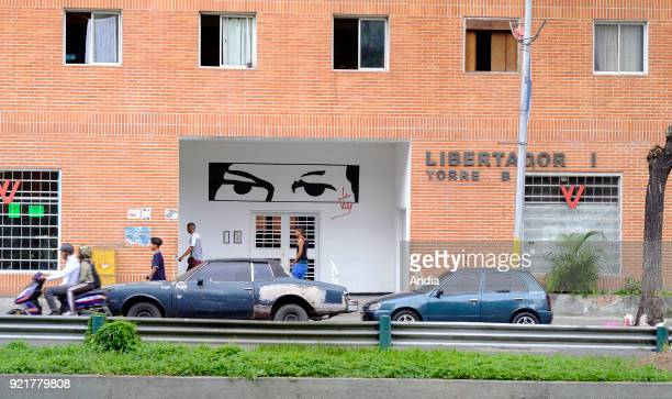 buildings constructed within the framework of the 'Gran Mision Vivienda Venezuela' governmental program launched by Hugo Chavez 'Libertador' building...