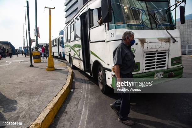 Venezuela Square is seen nearly empty as a preventive measure against the new type of coronavirus pandemic in Caracas Venezuela on April 02 2020