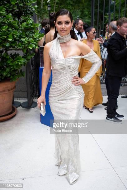 Venezuelan actress Chiquinquira Delgado is seen arriving at 'Yo Dona' International Awards 2019 at ThyssenBornemisza Museum on June 24 2019 in Madrid...