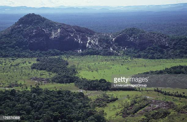 Venezuelan Amazonas Serra Parima Orinoco River Basin Yanomami Homelands The Territory Extends Over 150000 Square Kilometres Of The Amazon Divided...