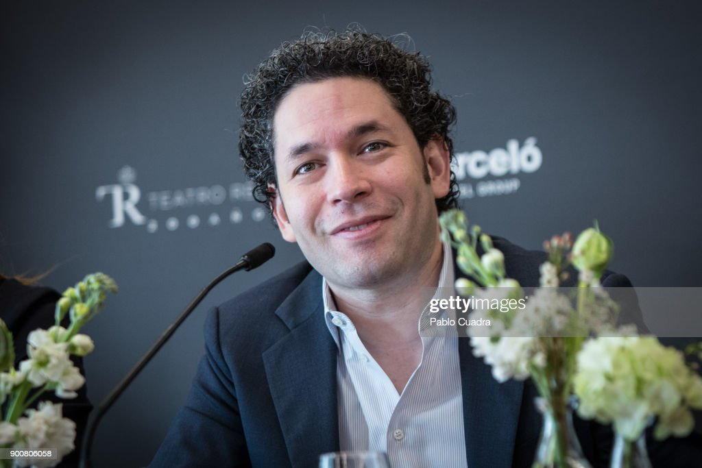 Venezuelan conductor Gustavo Dudamel presents the Formentor Sunset Experience at Barcelo Torre de Madrid Hotel on January 3, 2018 in Madrid, Spain.