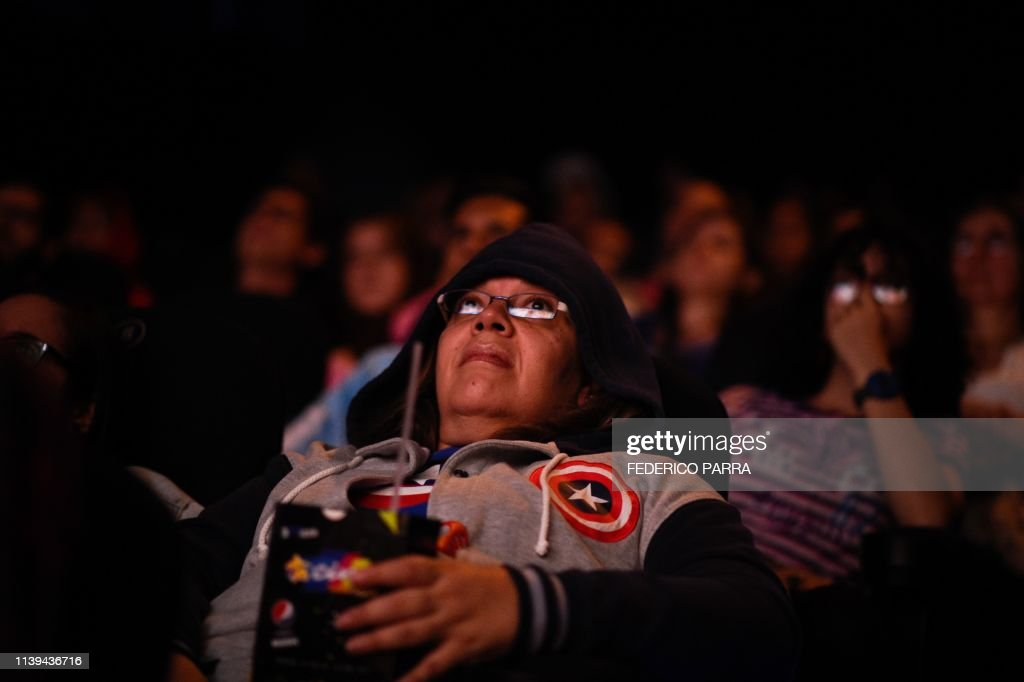 VENEZUELA-CINEMA-AVENGERS-PREMIERE : News Photo