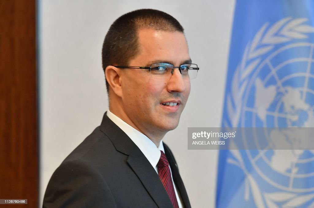 un-venezuela-diplomacy-Guterres-Arreaza : News Photo