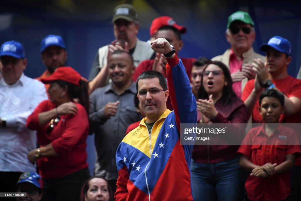 Venezuela To Leave OAS : News Photo