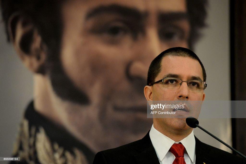 VENEZUELA-US-CRISIS-ARREAZA : News Photo