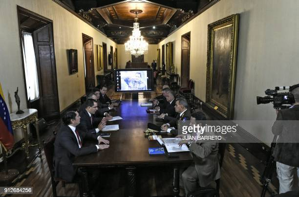 Venezuelan ministers meet in Caracas on Jaunuary 31 after UN SecretaryGeneral Antonio Guterres on Tuesday referred a more than centuryold border...