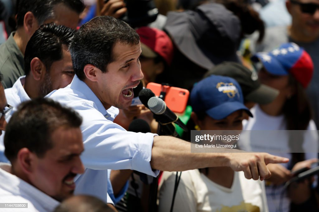 VEN: Juan Guaidó Rally in Guatire and Guarenas