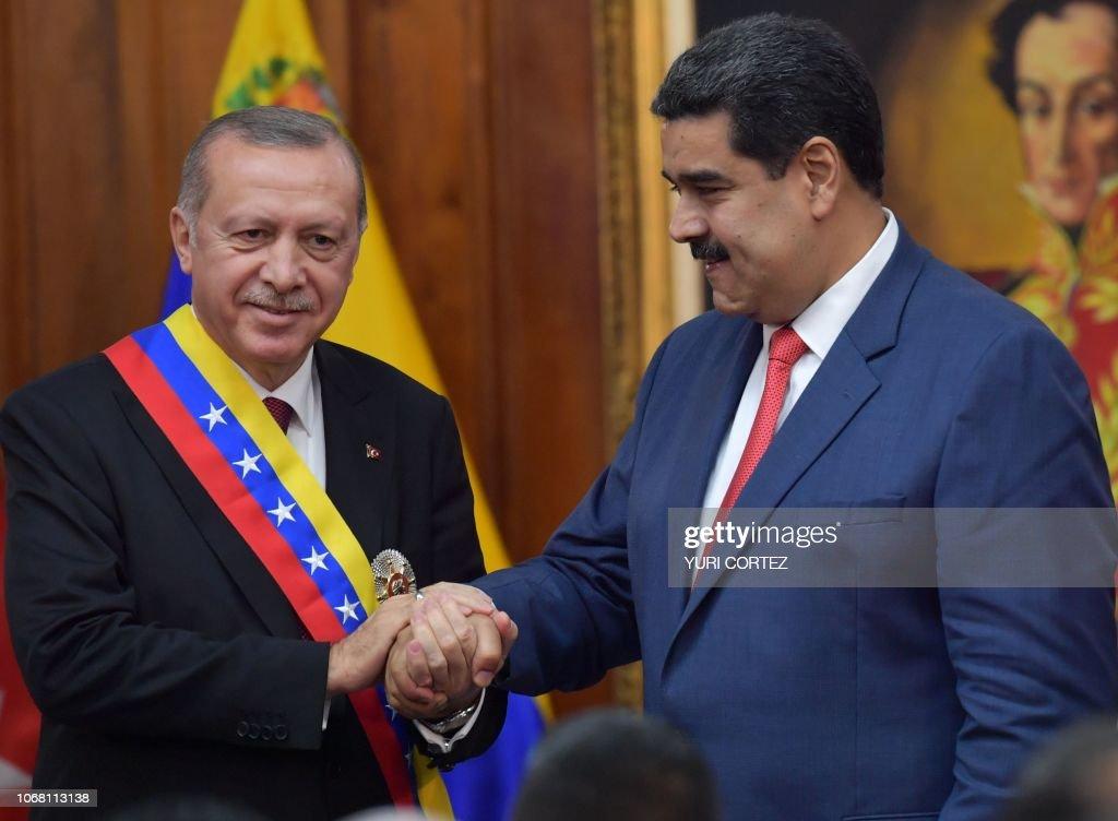 VENEZUELA-TURKEY-MADURO-ERDOGAN : News Photo