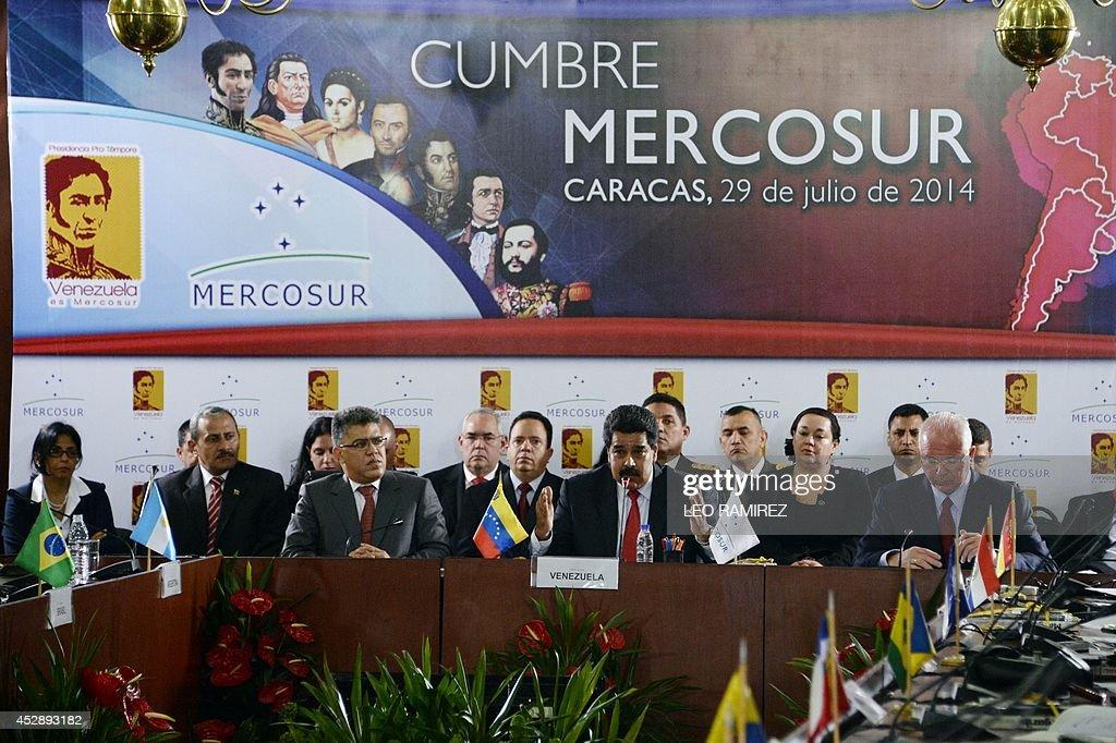 VENEZUELA-MERCOSUR-SUMMIT : News Photo