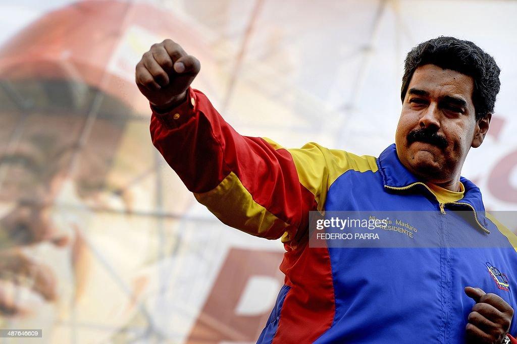 VENEZUELA-MAYDAY-MADURO : News Photo