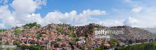 venezuelan slum - caracas stock pictures, royalty-free photos & images