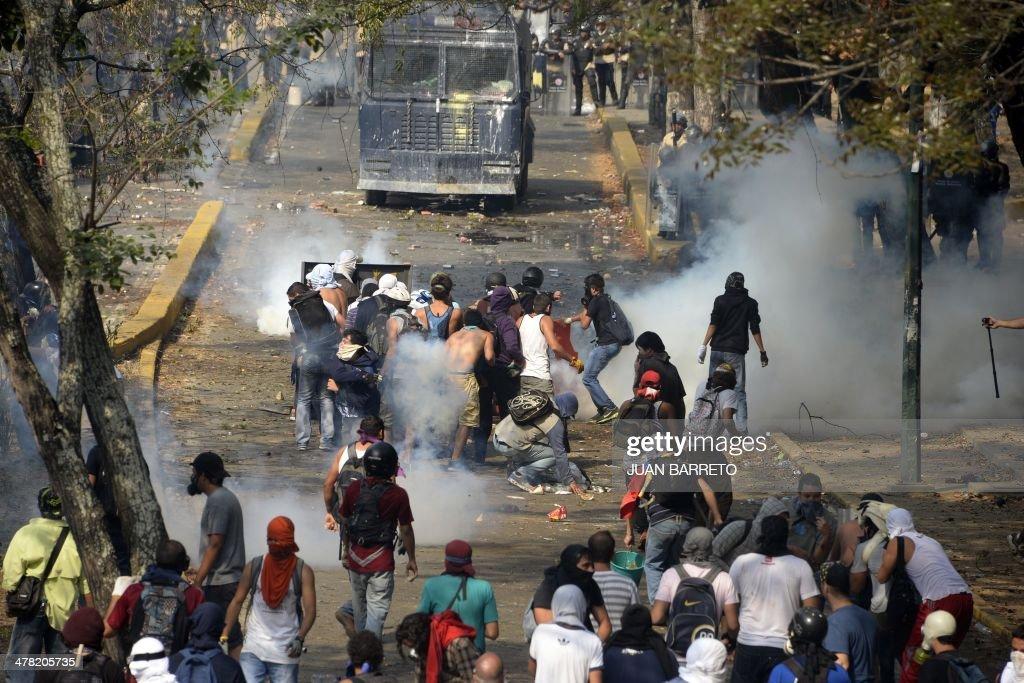 VENEZUELA-POLITICS-OPPOSITION-PROTEST : News Photo