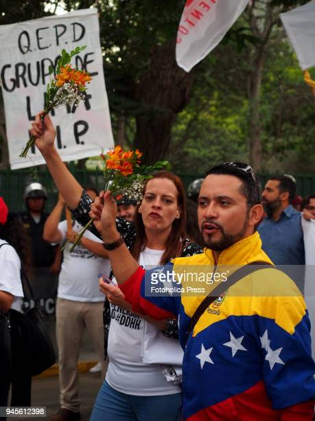 Venezuelans took to the streets when thousands of Latin American left wing activists conducted an antiimperialist march against the Americas summit...
