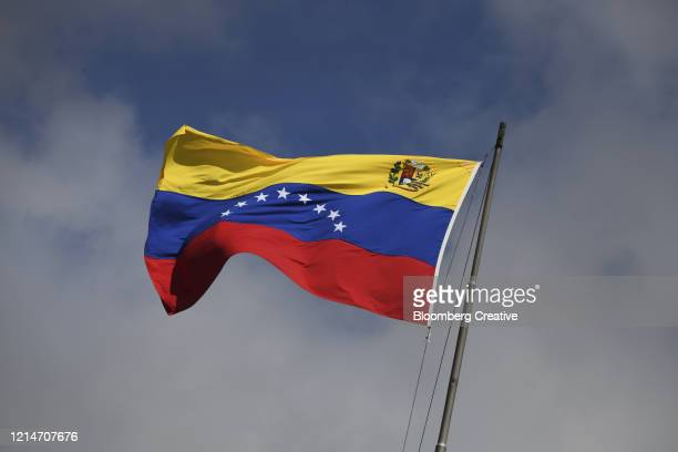 venezuela's national flag - venezuela stock pictures, royalty-free photos & images
