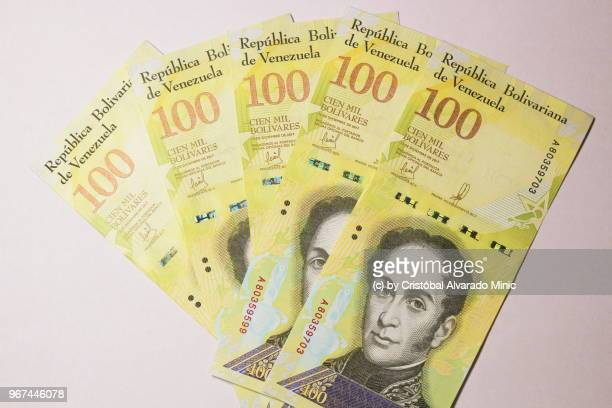 Venezuela's New 100,000-Bolivar Bills