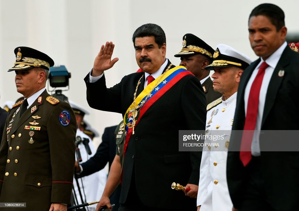 VENEZUELA-MADURO-SECOND-TERM-INAUGURATION : News Photo